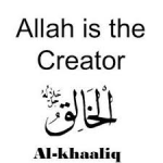 Allah is the Creator
