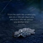 Travel in the Earth and see how We originated the creation - Quran 29:20